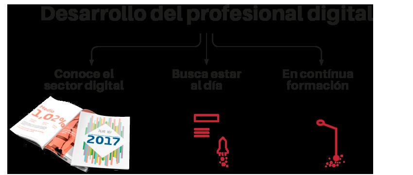 desarrollo del profesional digital